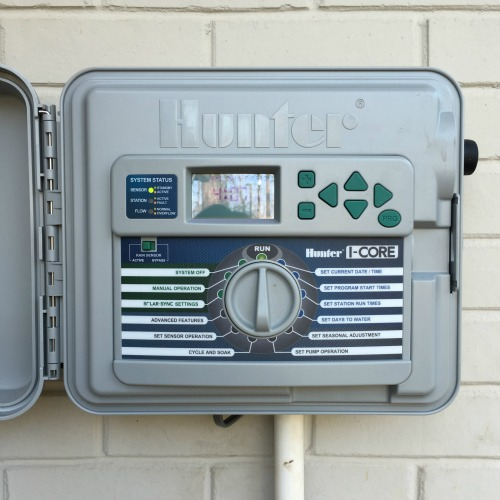 Controller for updated sprinkler sysytem| rainerlife.com