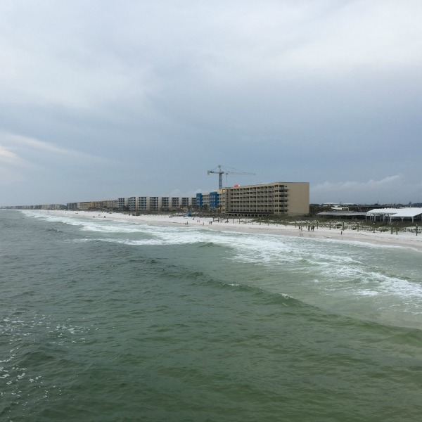 View from Okaloosa Island Pier | rainerlife.com