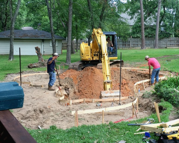 Pool Excavation | rainerlife.com