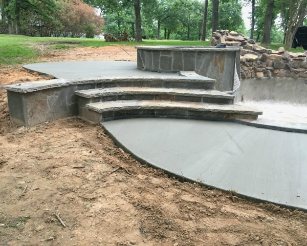 Tile & Coping on Pool | rainerlife.com