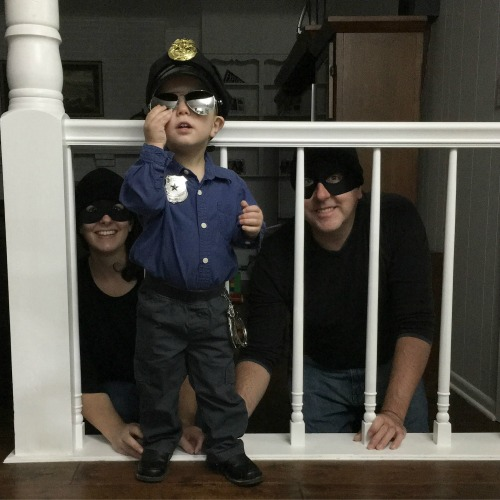 Halloween - Cops and Robbers | rainerlife.com