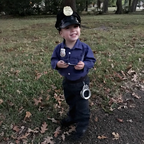 Halloween - Police Officer | rainerlife.com