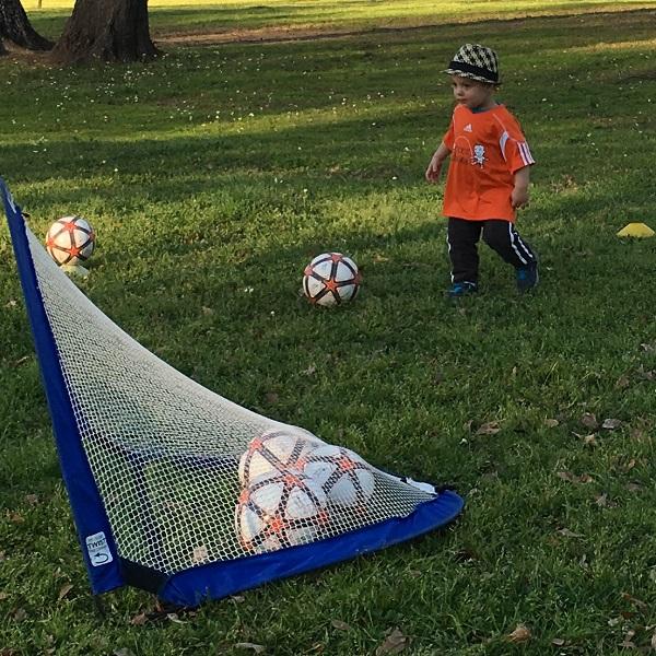 Gavin playing soccer | rainerlife.com