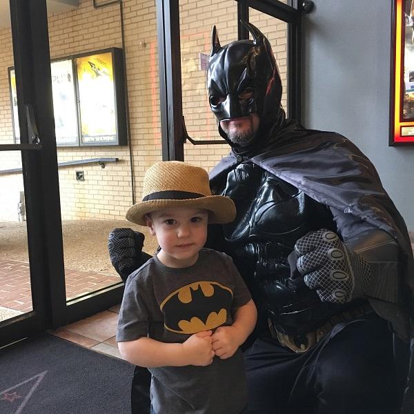 Gavin & Batman | rainerlife.com