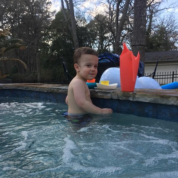 Gavin in the spa | rainerlife.com