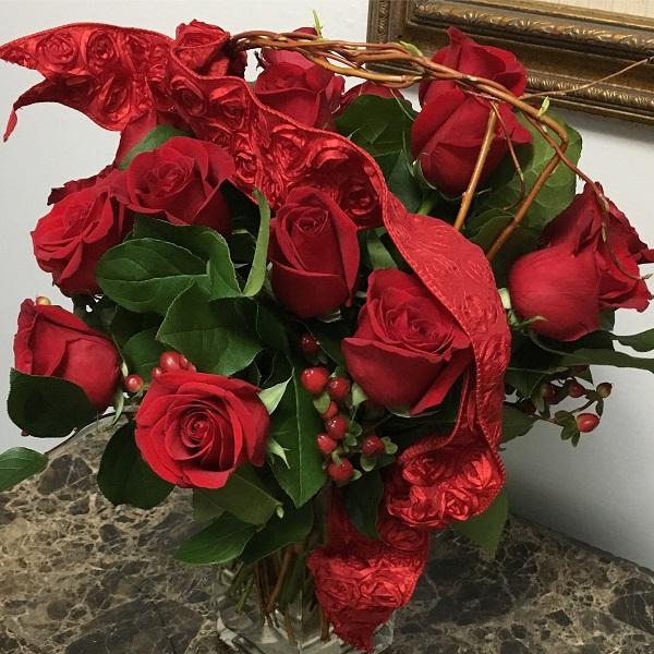 Valentine's Day roses | rainerlife.com