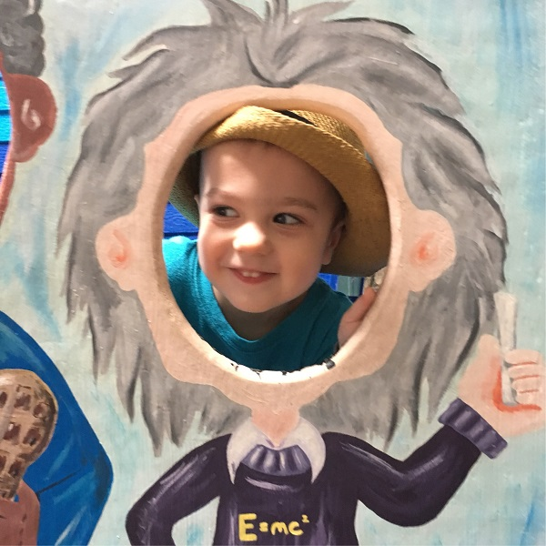 Gavin at the Discovery Science Place | rainerlife.com