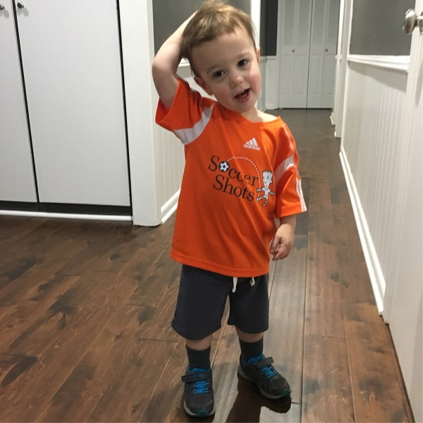 Gavin ready for soccer | rainerlife.com