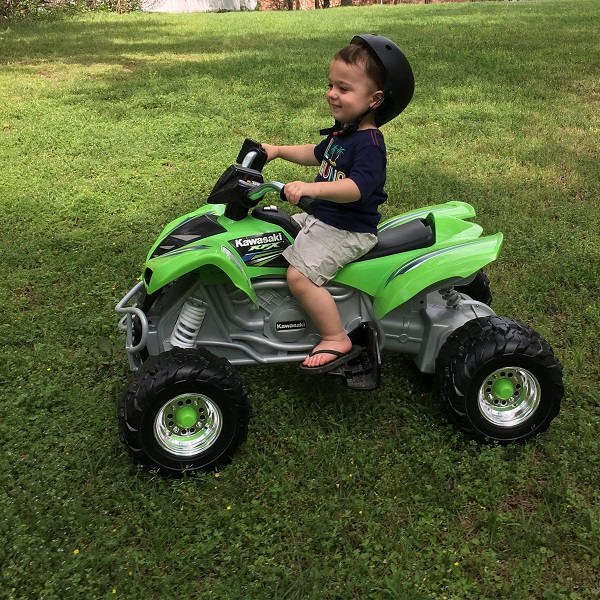 Gavin on his ATV | rainerlife.com