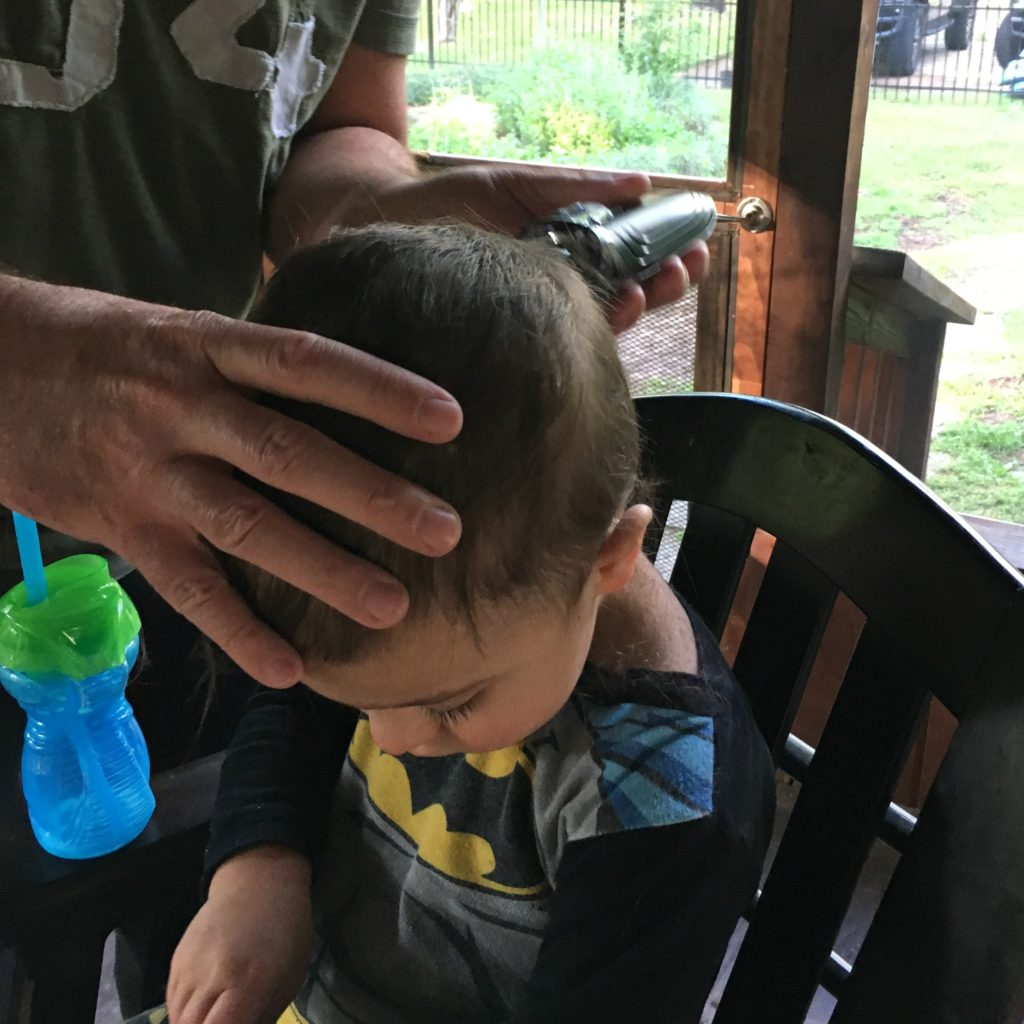 Gavin's First Haircut | rainerlife.com