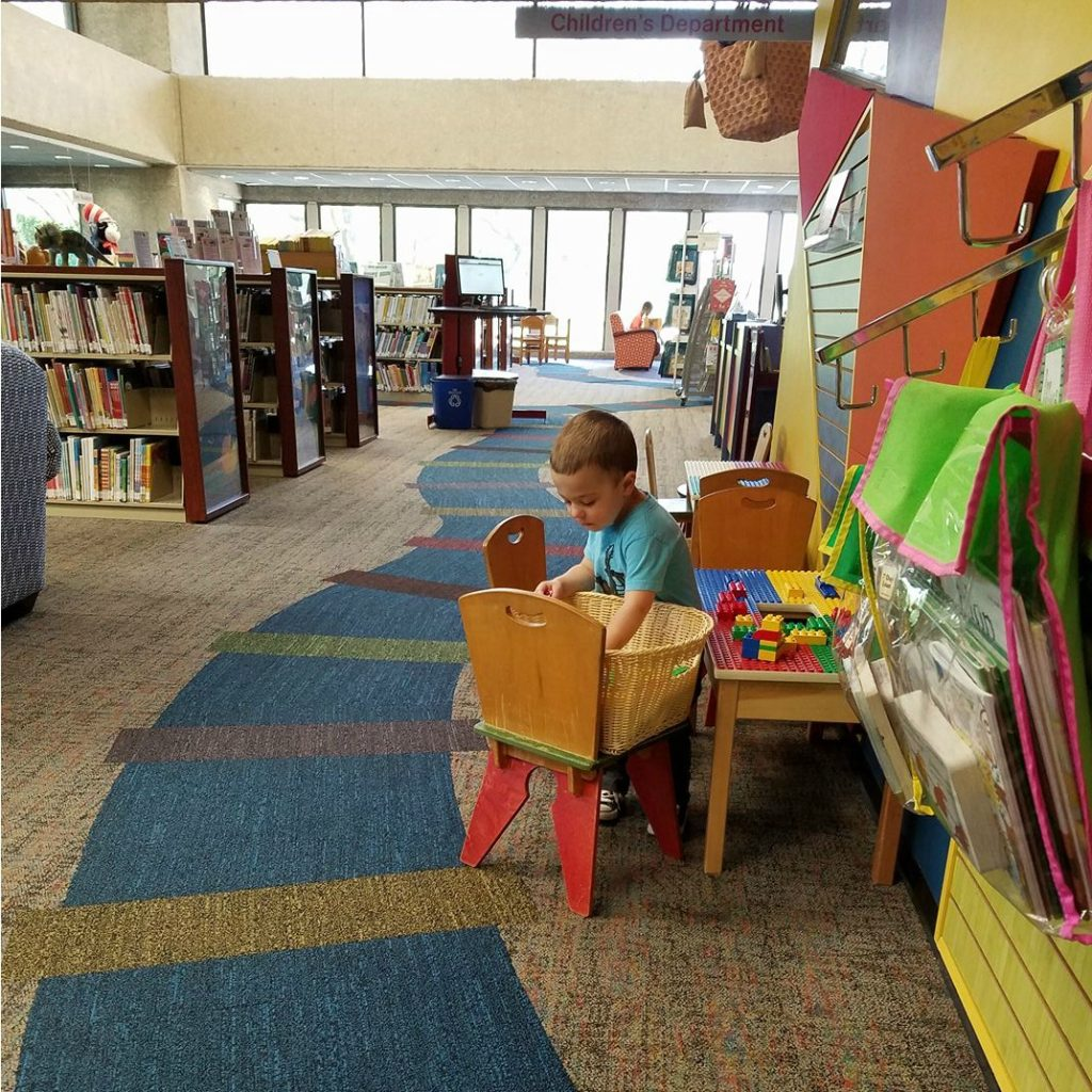 Gavin at the Library | rainerlife.com