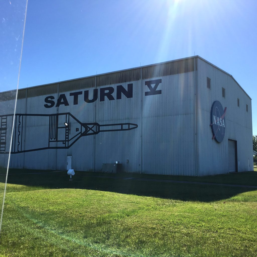 Warehouse for the Saturn V at the NASA Johnson Space Center | rainerlife.com