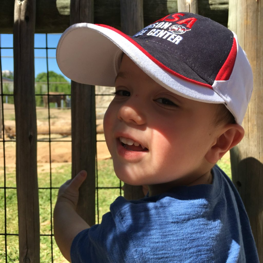 Gavin at the Houston Zoo | rainerlife.com