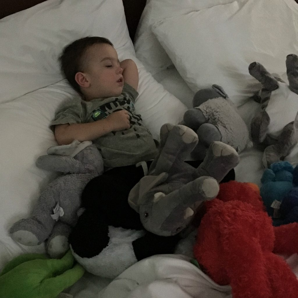 Gavin at naptime | rainerlife.com