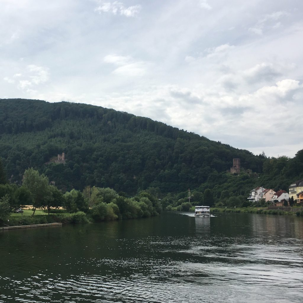 Neckarsteinach on the Neckar River | rainerlife.com
