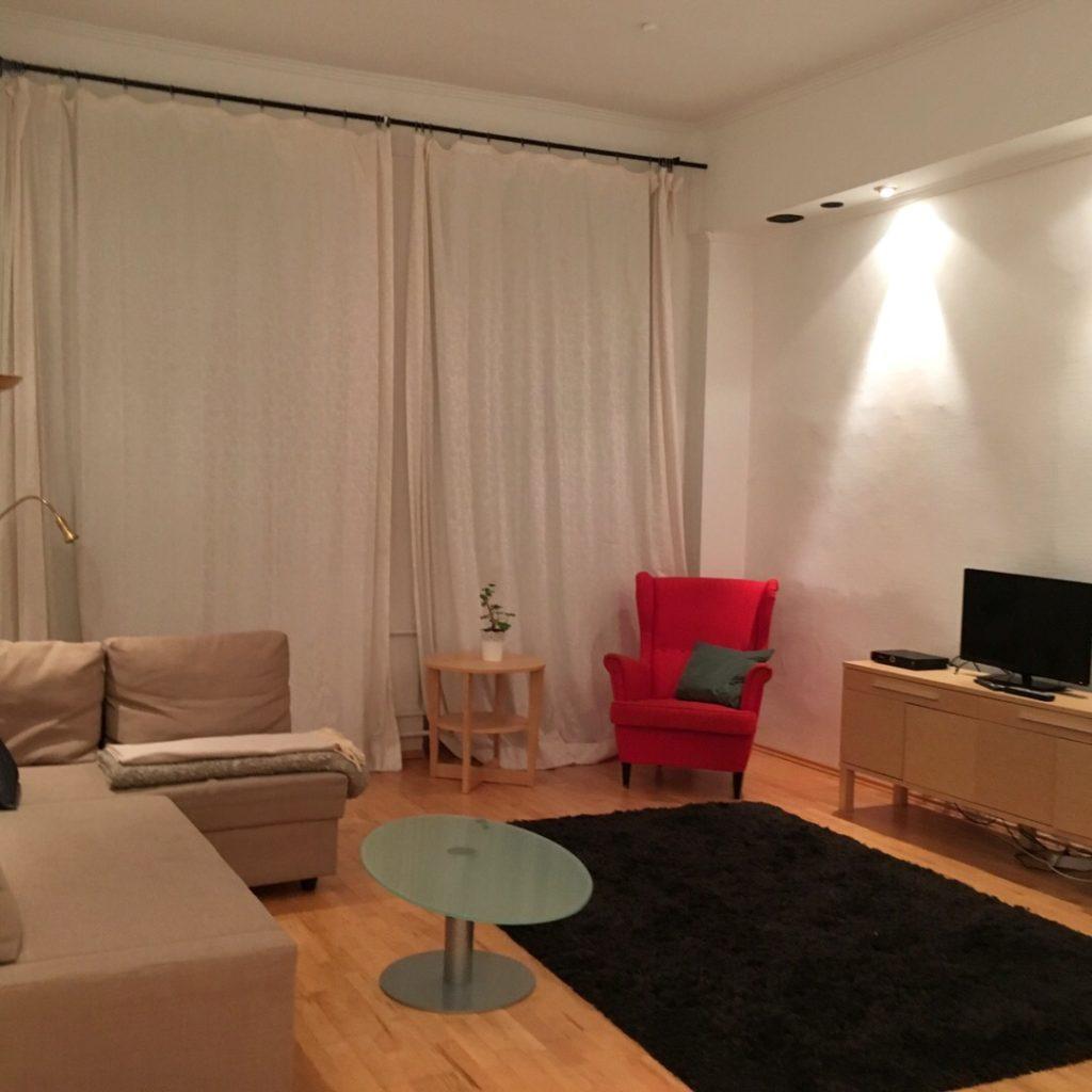 Living area at Heidelberg Airbnb | rainerlife.com
