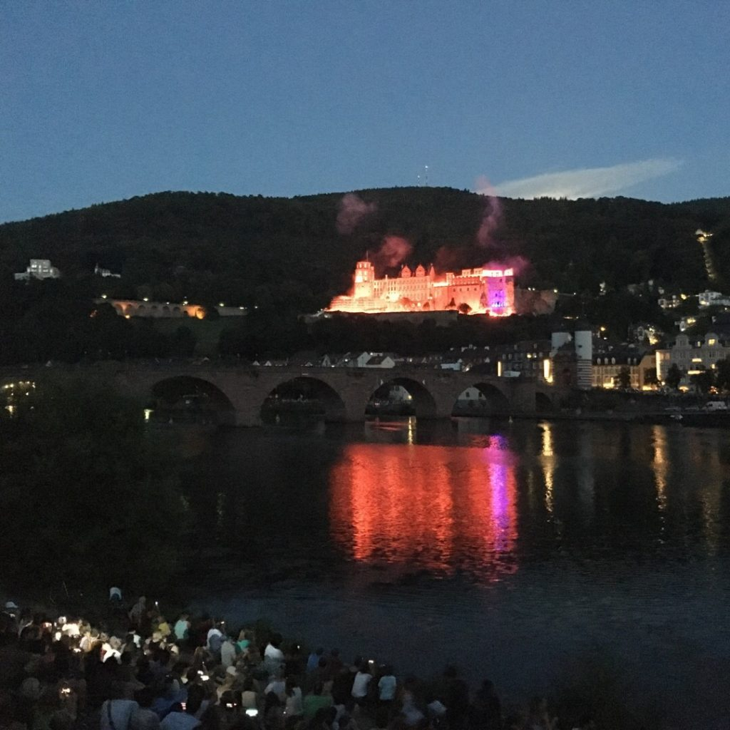 Heidelberg Castle Illumination | rainerlife.com