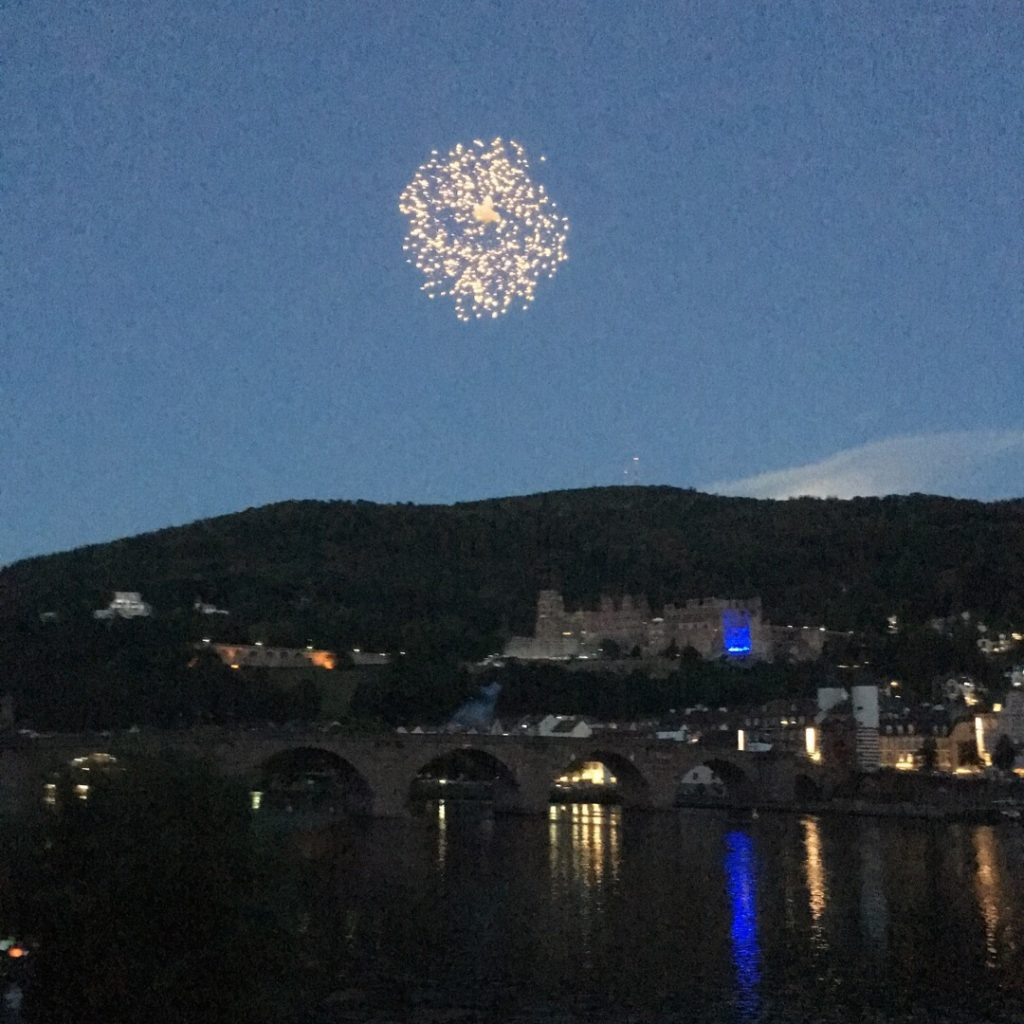 Fireworks over Heidelberg Castle | rainerlife.com