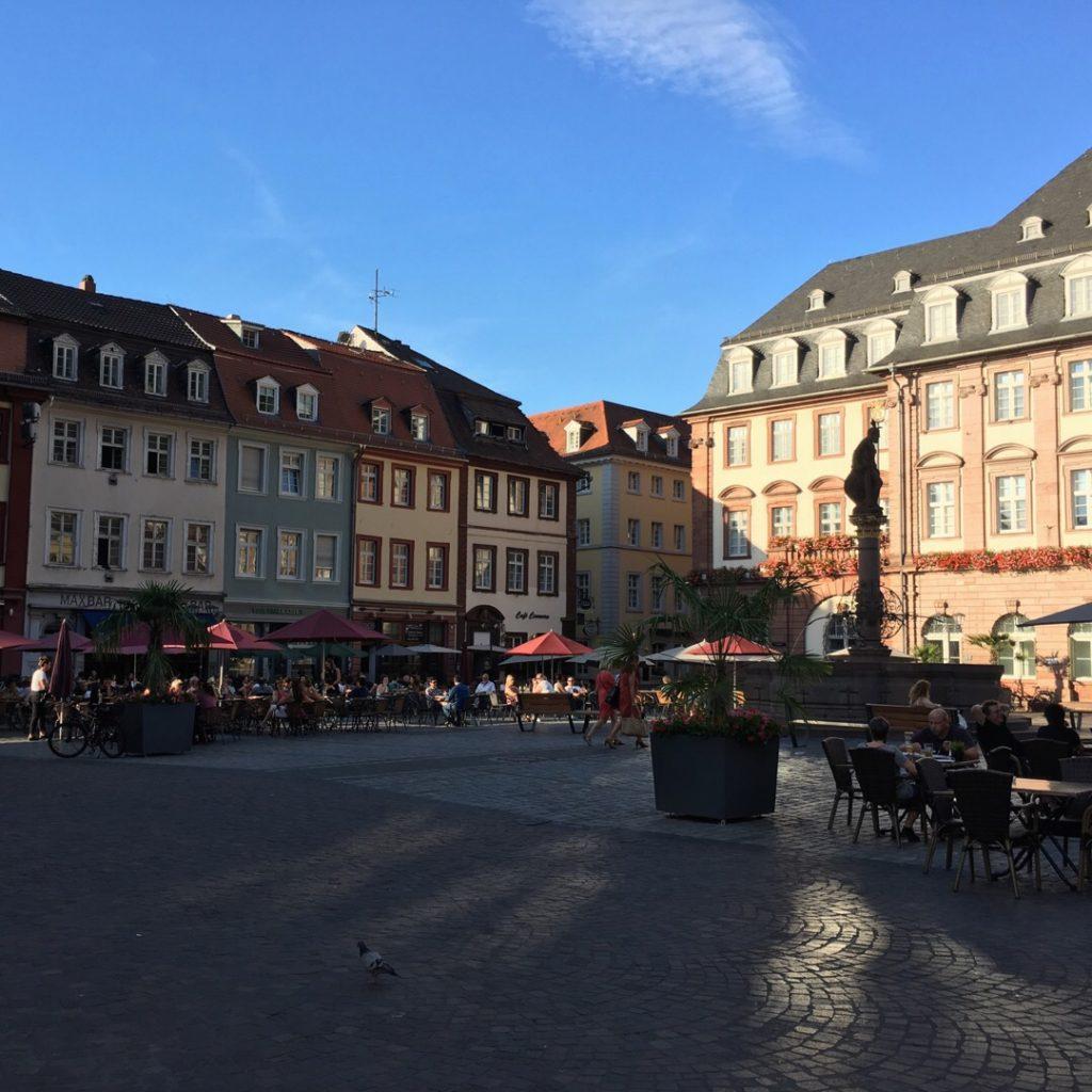 Market Square (Marktplatz) {Heidelberg, Germany} | rainerlife.com