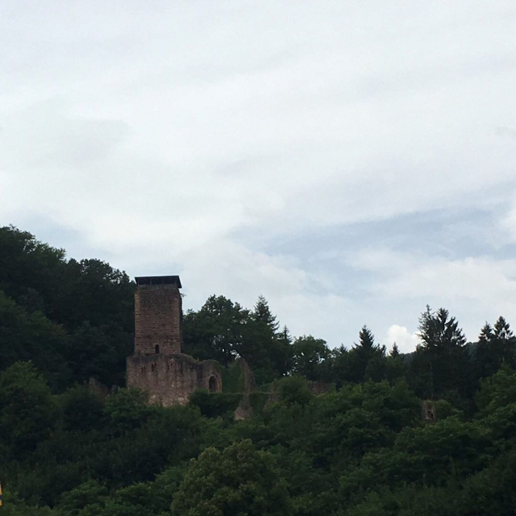 Hinterburg Castle in Neckarsteinach | rainerlife.com