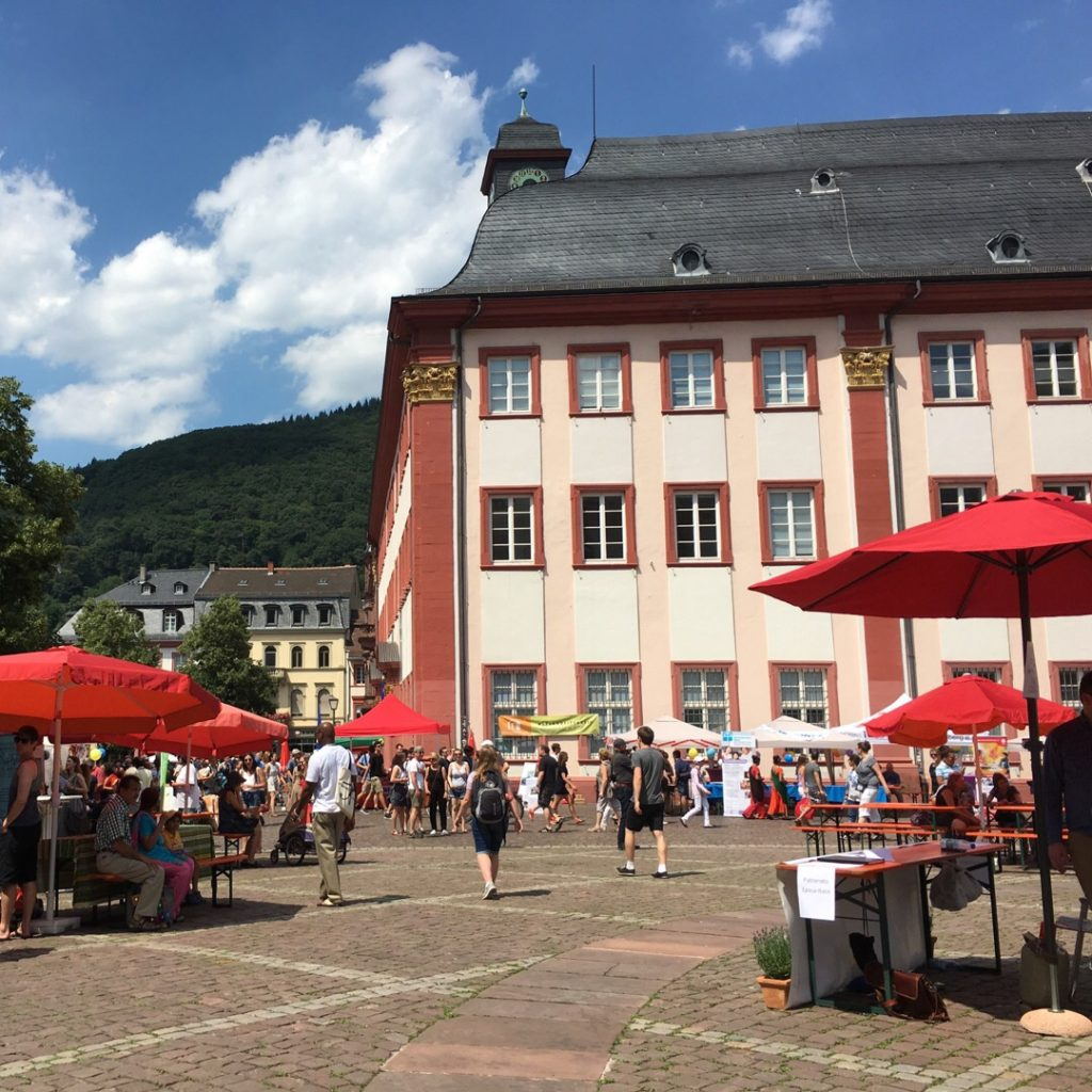Festival near the Old University {Heidelberg, Germany} | rainerlife.com