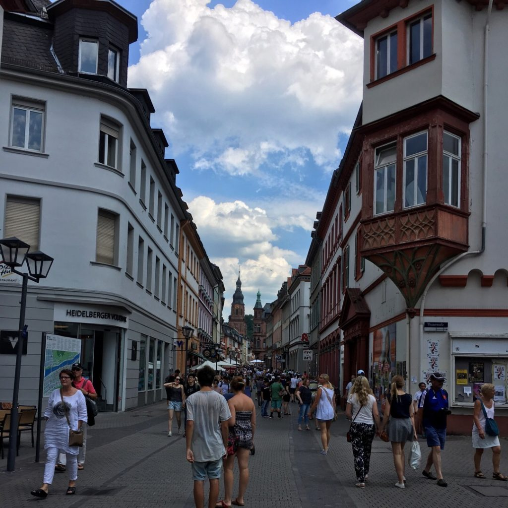Hauptstrasse in Old Town {Heidelberg, Germany} | rainerlife.com