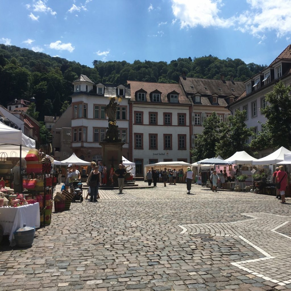 Kornmarkt {Heidelberg, Germany} | rainerlife.com