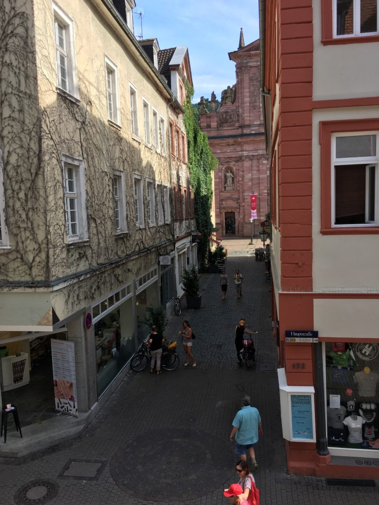 View from our apartment windows {Heidelberg, Germany} | rainerlife.com