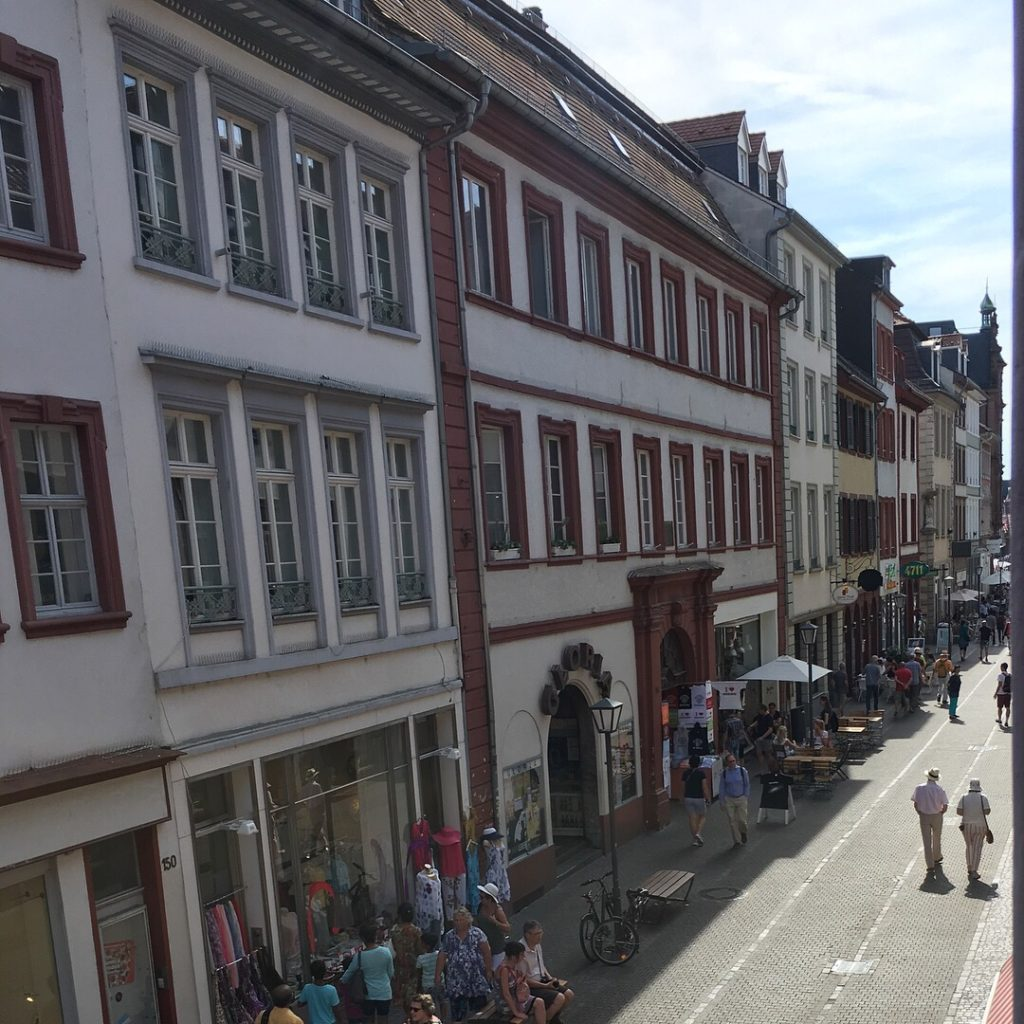 Hauptstrasse - view from our apartment windows (Heidelberg, Germany) | rainerlife.com