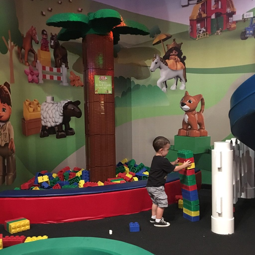 Gavin at Legoland Discovery Center | rainerlife.com