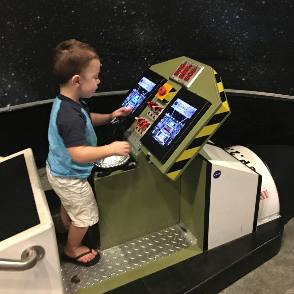 Gavin at Discovery Science Place | rainerlife.com