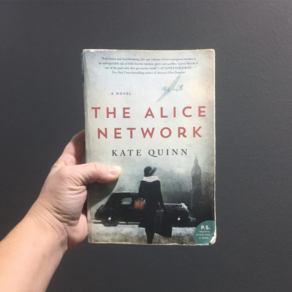 The Alice Network by Kate Quinn   rainerlife.com