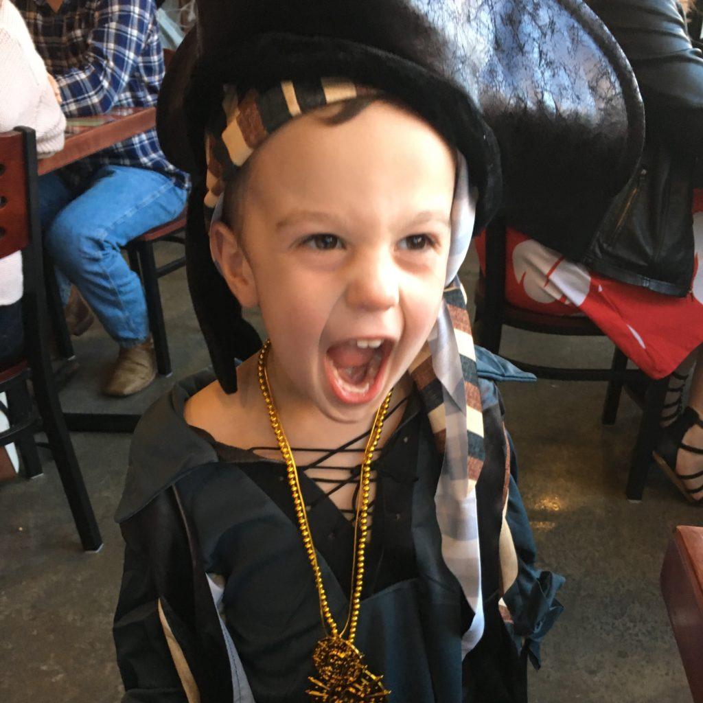 Gavin as a pirate | rainerlife.com