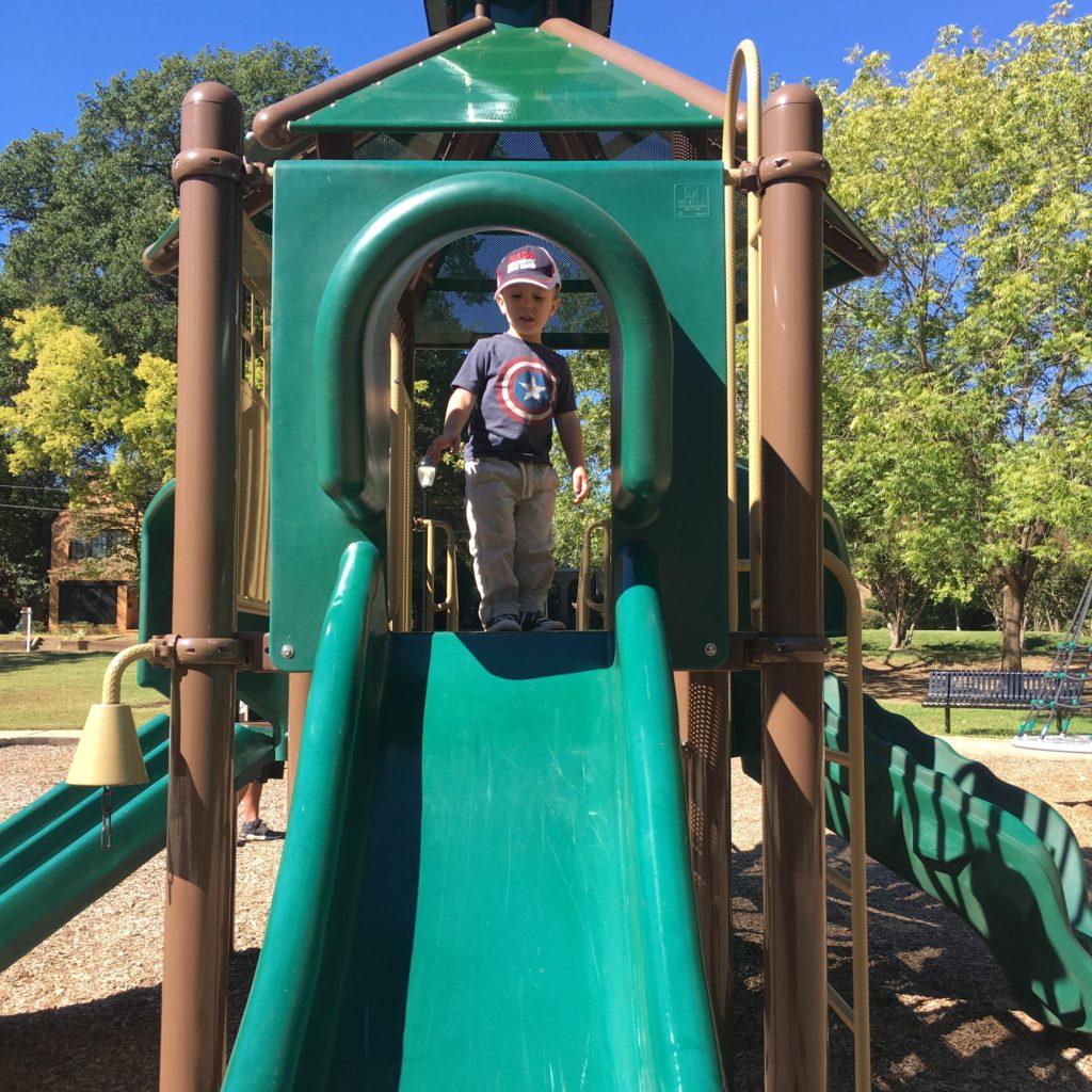 Gavin at a playground | rainerlife.com