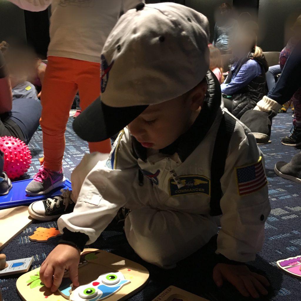Gavin as an astronaut | rainerlife.com