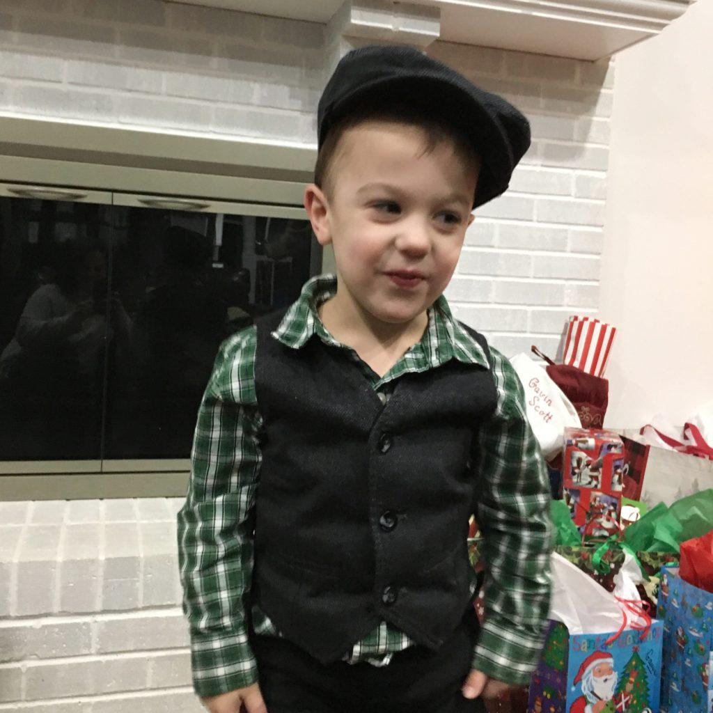 Gavin on Christmas Eve | rainerlife.com